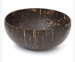 Decorative Coconut Shell Candle Bowl