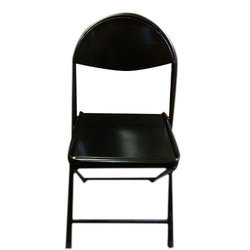 Mild Steel Perforated Folding Chair, Height: 3 feet
