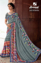 Laxmipati Multicolor Georgette Saree Dilbaro 5402