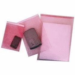 Orion Pink Anti Static Air Bubble Pouch
