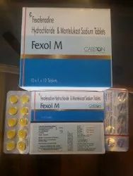 Fexofenadine 120mg And Montelukast 10mg