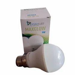 9W Syska Maxglow LED Bulb