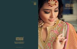 Amirah Sharara Series 11041-11046 Stylish Party Wear Satin Georgette Suit