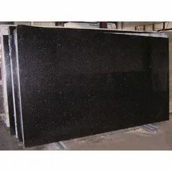 Black Galaxy Granite Slab, Thickness: 0.75 Inch