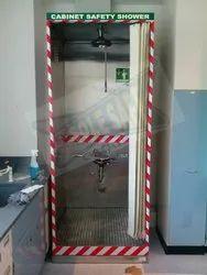 Cabinet Safety Shower with Eyewash