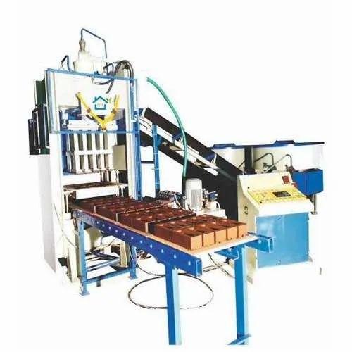 12 Pcs Fully-Automatic Fly Ash Brick Making Machine