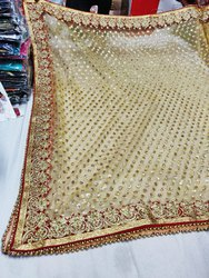 Golden Bridal Dupatta