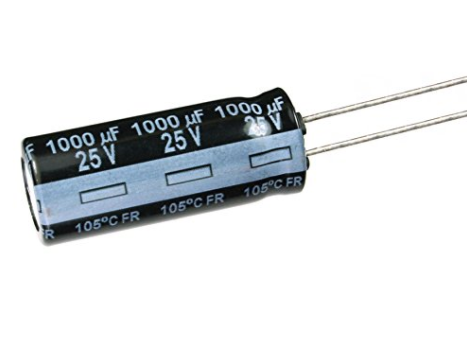 Aluminium Capacitor 1000uf 25v Radial