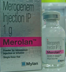 Meropenem Injection IP 1 g