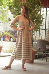 Hand Loom Cotton Kurtis