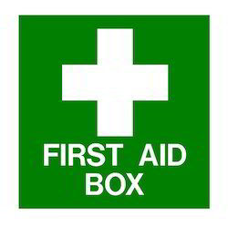 First Aid Sign Board