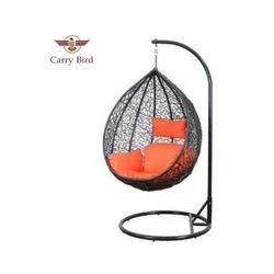 Carry Bird Wicker Nest Design Swing Chair