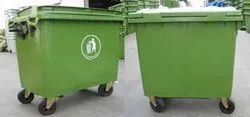 1100 Liters Plastic Dustbin