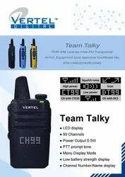 Vertel Team Talky Licence Free