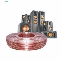 0.75 Sqmm Transparent Speaker Cable