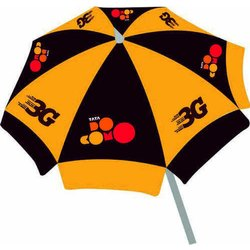 Polyester Printed Tata Docomo Promotional Umbrella