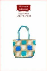 SHREE SHYAM PRODUCTS ASSORTED PRINTED HAND BAGS. PRINTED SILK BAGS