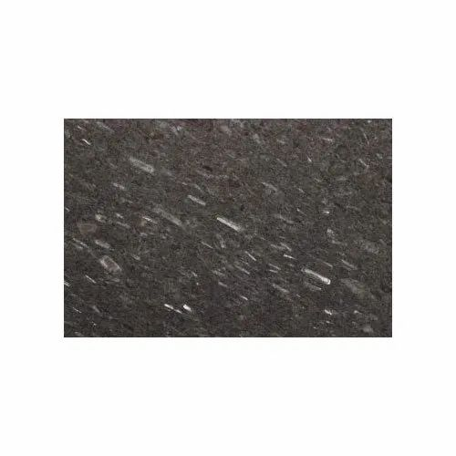 Black Galaxy Granite Slab, Thickness: 5-10 Mm