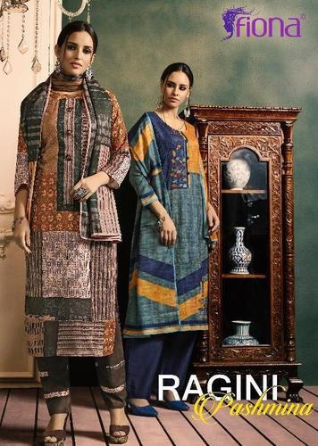 Fiona By Ragini Salawar Kameez By Work Pashmina Winter Collection