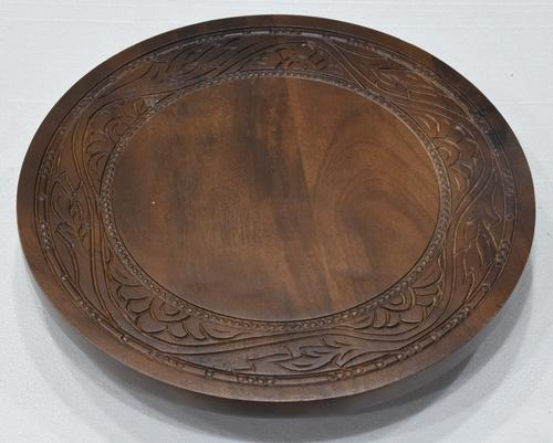 Mesmeric Wooden Lazy Susan With New Design