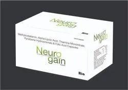 Methylcobalamin1500mcgAlpha Lipoic Acid 100mgThiamine Mononitrate10mgPyridoxine3mgFolic Acid1.5mg