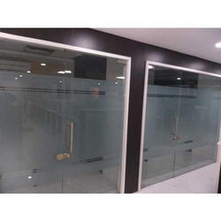 PVC Plain Frosted Glass Film, Thickness: 10 Mm