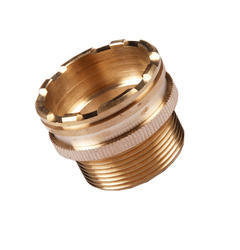 Golden Round Brass UPVC Insert Fittings, Packaging Type: Box, for Pipe Fitting