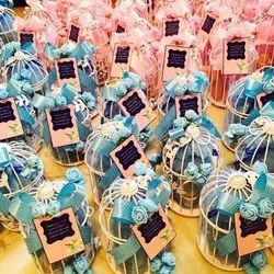 Blue And Pink Gift Wedding Trousseau Packing