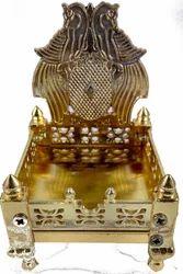 Sinhasan in Gold Color