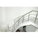 Stainless Steel Panel Staircase Railing