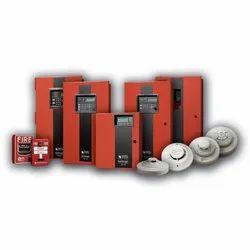 Mild Steel (Control Panel) Addressable Fire Alarm System