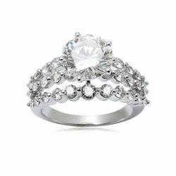 Designer Crown Diamond Ring