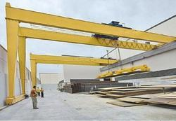 Goliath Gantry Crane, Capacity: 10-15 ton