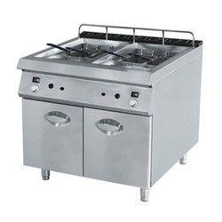 Double Deep Fryer Standing Model