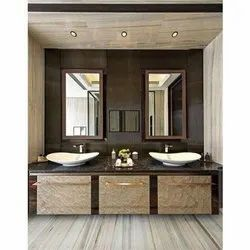 Wooden Dual Bathroom Vanity Rs 32500