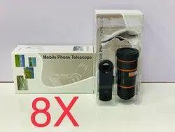 8x Mobile Phone Telescope Zoom Lens