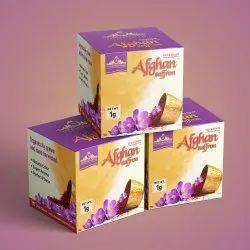 Saffron Packaging Boxes