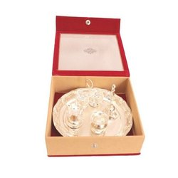 Brass Pooja Gift Set for Puja