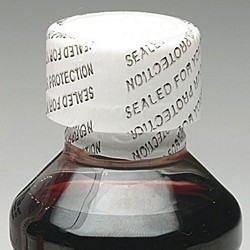 Printed Heat Shrink Cap Seal