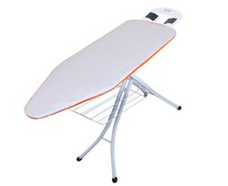 Nexa Plus Jumbo Size Heat Reflector 40% Power Saving Ironing Board with Cloth Rack