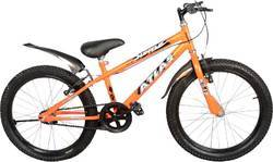 Orange Atlas Mettle Bicycle 'No' Gears, Size: 20t