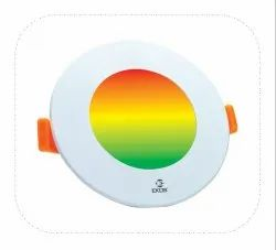 7W Colour Changing LED CONCEALED LIGHT (Rainbow), For Home