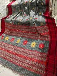 Pure Khadi Cotton Jamdani Sarees