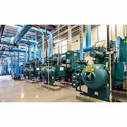 Ammonia Industrial Refrigeration System, For Industrial Use