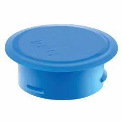 TMA Blue Plugs Push On, Material: Metal, Plastic