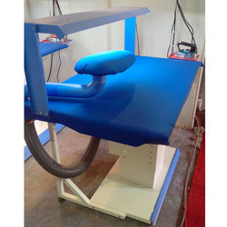 DST Blue and White Industrial Ironing Tables