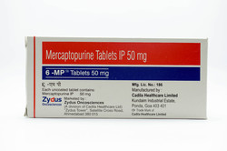 6 Mp 50Mg Tablets