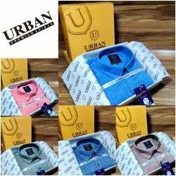 Urban Printed Satin Print Shirt