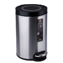 Soft Step Stainless Steel 8 Liter Pedal Trash Can