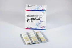 Metformin Hydrochloride Sustained Release Glimepiride Tablet